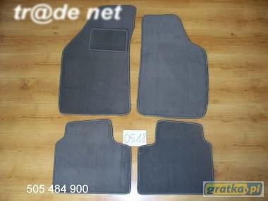 Fiat Punto I 1993-1998 najwyższej jakości dywaniki samochodowe z grubego weluru z gumą od spodu, dedykowane Fiat Punto-1