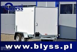 Nowa PRZYCZEPA KONTENER FURGON 750 KG 204x115x150 Blyss