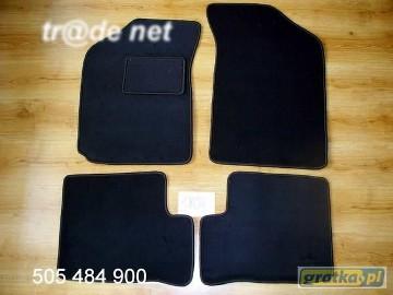 Nissan Sunny 1990-1995 najwyższej jakości dywaniki samochodowe z grubego weluru z gumą od spodu, dedykowane Nissan Sunny