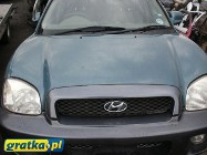 Hyundai Santa Fe I 2,7 benzyna 2003 NA CZĘŚCI