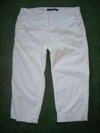 GAP białe Spodnie 3/4 Rybaczki j nowe 36 Spodnie