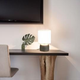vidaXL Lampy stołowe, 2 szt., dotykowe, białe, E14 51039