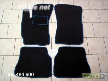 Hyundai Lantra najwyższej jakości dywaniki samochodowe z grubego weluru z gumą od spodu, dedykowane Hyundai Lantra