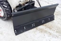 Pług śnieżny dla miniładowarek hydrauliczny wychył