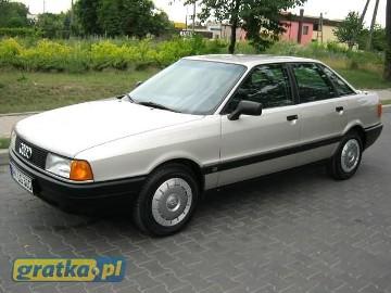 Audi 80 III (B3) 1.8-50TYŚ KM!!! STAN KOLEKCJONERSKI