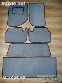 CHRYSLER ASPEN od 2004 r.3 rzędy + bagażnik najwyższej jakości dywaniki samochodowe z grubego weluru z gumą od spodu, dedykowane Chrysler
