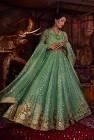 Nowa suknia balowa XS 34 zielona cekiny haft szyfon chusta szal spodnie indyjska boho ślub