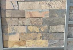Płytki Łupek California Brick kamień naturalny 30x15x0,8-1,3 cm- Elewacja, Dom