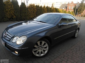 "Mercedes-Benz Klasa CLK Cdi Skóry Navi Bi-Xenon Alu 17"" 100%Bezwypadkowy"