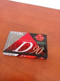 Kaseta magnetofonowa TDK D 90 Type I