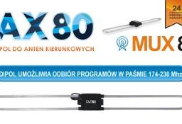 Uniwersalny dipol AX 80 do Anten naziemnych DVB-t MUX 8