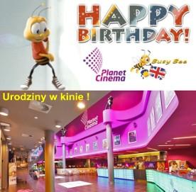 Niezwykłe urodziny z Busy Bee dla dzieci w kinie Planet Cinema Organizacja imprez animacje