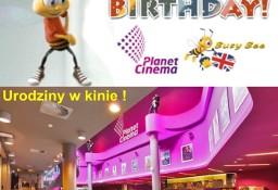 Niezwykłe urodziny z Busy Bee dla dzieci w kinie Planet Cinema