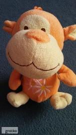małpka zabawka pluszowa pluszak 21 cm