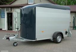 Przyczepa Kontener Furgon Cargo marki Debon Cheval Liberte Przyczepa model C 300 Przyczepa Aluminiowa