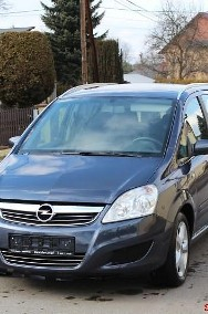 Opel Zafira B ZAFIRA 1,8 16V 122 TYS KM PERF STAN 1 REJ 12/2008-2