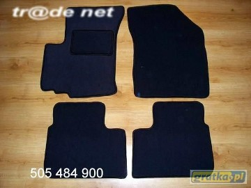 Suzuki SX4 od 2006r. hb najwyższej jakości dywaniki samochodowe z grubego weluru z gumą od spodu, dedykowane Suzuki SX4