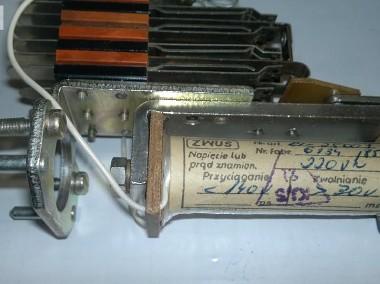 Przekaźnik elektromagnetyczny typu RL-2 ; 220V ; ZWUS rl-25003-1