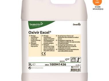 KONCENTRAT DO ROZCIEŃCZENIA - Płyn dezynfekujący nie zawiera alkoholu 5l - OXIVIR EXCEL-1