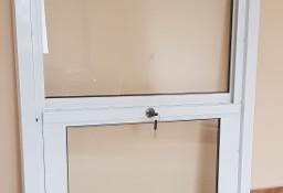 Okno aluminiowe podawcze, kasowe, podnoszone do góry 800x950