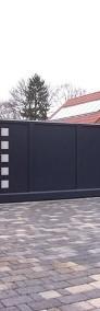 Bramy przesuwne, bramy garażowe, ogrodzenia - Kraków, małopolska-3