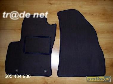 Fiat Punto III Van od 2003r. najwyższej jakości dywaniki samochodowe z grubego weluru z gumą od spodu, dedykowane Fiat Punto-1