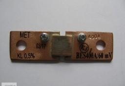 bocznik prądowy BES 400A/60mV