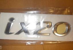 86310-1k000 emblemat ix20 na klapę bagażnika, Hyundai ix20 Hyundai Ix20