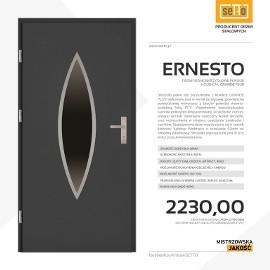 Drzwi wejściowe stalowe SETTO model ERNESTO PLUS