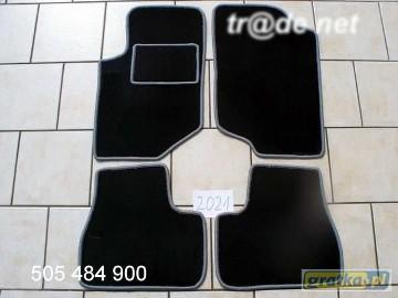 Peugeot 207SW od 2006r. Kombi najwyższej jakości dywaniki samochodowe z grubego weluru z gumą od spodu, dedykowane Peugeot 207