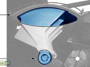 ZESTAW NAPRAWCZY KLAP NADMUCHU KLIMATYZACJI PEUGEOT407/ CITROEN C5 II DWUSTREFOWA lub JEDNOSTREFOWA Peugeot 407-1