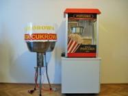 Zestaw maszyn do waty cukrowej i popcornu, wata cukrowa, popcorn, ATEST