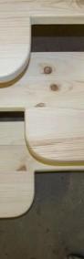 TREP 60cm STOPIEŃ SOSNOWY Trepy Stopinie Kacze z Drewna Sosnowego Schody - PRODUCENT z ŁUKOWA-4