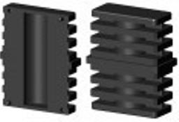 Łącznik plastikowy do profili aluminiowych typ I 60x30,czarny, składany,60x30x2