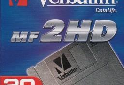 """Verbatim NOWE Dyskietki 3,5"""" 1,44MB, fabrycznie zapakowane 20 szt."""