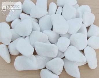 Biały grys kamień otoczak GRECKI