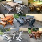 stół ławki mebel ogrodowe stolarka ogrodowa ozdoby ogrodowe stolarz na każdą kieszeń