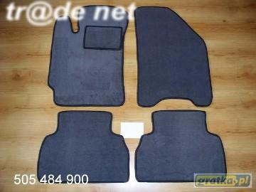 Daewoo Nubira I 1997-1999 najwyższej jakości dywaniki samochodowe z grubego weluru z gumą od spodu, dedykowane Daewoo Nubira
