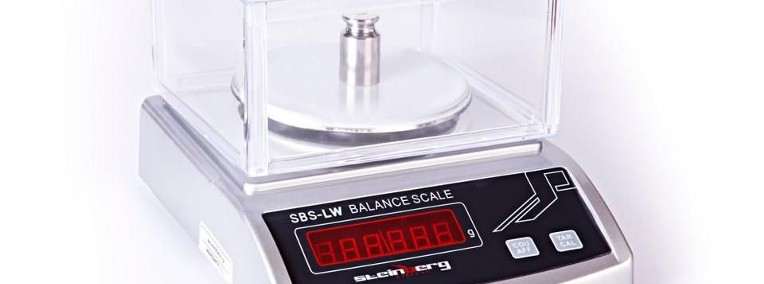 Waga precyzyjna aptekarska jubilerska 2kg/ 0,01g-1