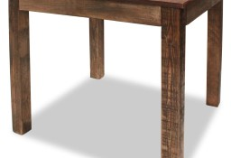vidaXL Stół do jadalni, lite drewno z recyklingu, 82x80x76 cm244495