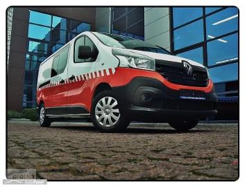 Renault Trafic Navi Long 1.6CDTI 120 Km Klima 6 Osób 100% Serwis Bezwypadkowy Okazj