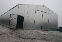 Garaże blaszane, wiaty, hale, blaszaki.