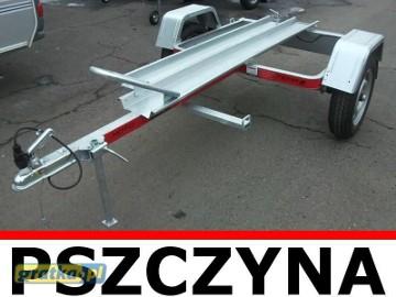 Przyczepa pod 1 motocykl Świdnik Tema Moto 1 Fabrycznie nowa!