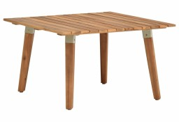 vidaXL Ogrodowy stolik kawowy, 60x60x36 cm, lite drewno akacjowe 46468