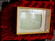 Stary telewizor Donja Strassfurt Zabytek lat 40-50' Rarytas dla kolekcjonera