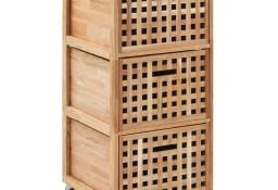 vidaXL Szafka łazienkowa, 41x41x91 cm, lite drewno orzecha włoskiego247601