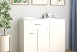 vidaXL Szafka, biała, 88 x 30 x 70 cm, płyta wiórowa800675