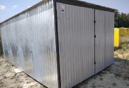 Garaż blaszany 3x5 w II gatunku