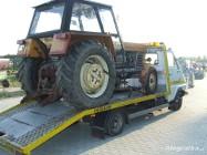 transport ciągników rolniczych maszyn rolniczych przyczep i innych