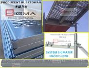 Podest Blat Stalowy 3,0m Sigma70P do rusztowania elewacyjnego